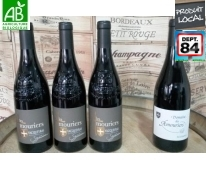 Signature AOC Vacqueyras x3 + 1 Suzanne Vin rouge Bio Offert
