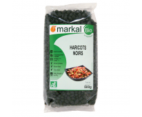 Haricots Noirs bio 500g Markal