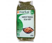Haricots Mungo Soja vert bio 500g Markal