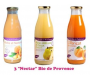 Assortiment 3 Nectar de fruits Bio Pronatura