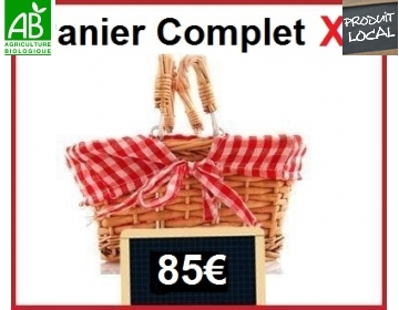 Panier complet XL