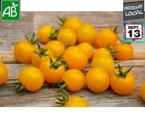 Tomate cerise Jaune Bio de Provence 250g
