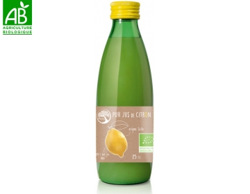 Pur jus de Citron Bio 25cl Philia