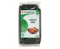 Haricots Noirs bio 500g Markal