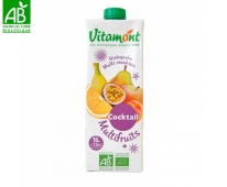 Pur Jus Multi Fruits Bio 1l - Vitamont