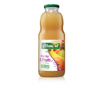 Cocktail jus de fruits du verger et exotique Bio 1l- Vitamont