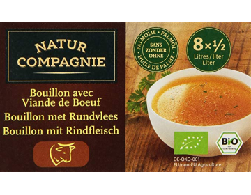 Bouillon cubes de Boeuf Bio - Natur Compagnie