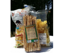 Chips et gressin artisanaux en lot - Family chips