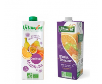 Pack jus Bio Multi fruits et Matin douceur - Vitamont