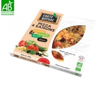 Pizza 4 Saisons Bio - Carte Nature