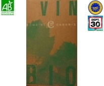Origine vin Rouge Bio IGP pays du Gard - Domaine Cabanis
