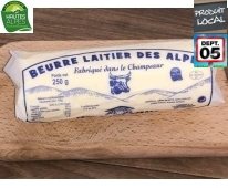 Beurre Laitier 250g - Fromagerie Ebrard