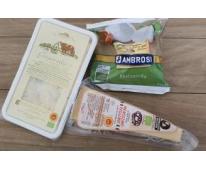 Assiette 3 fromages Bio Italiens