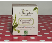 Infusion Bio Camomille Matricaire en infusette - Le Dauphin