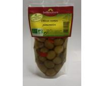 Olives vertes pimentées