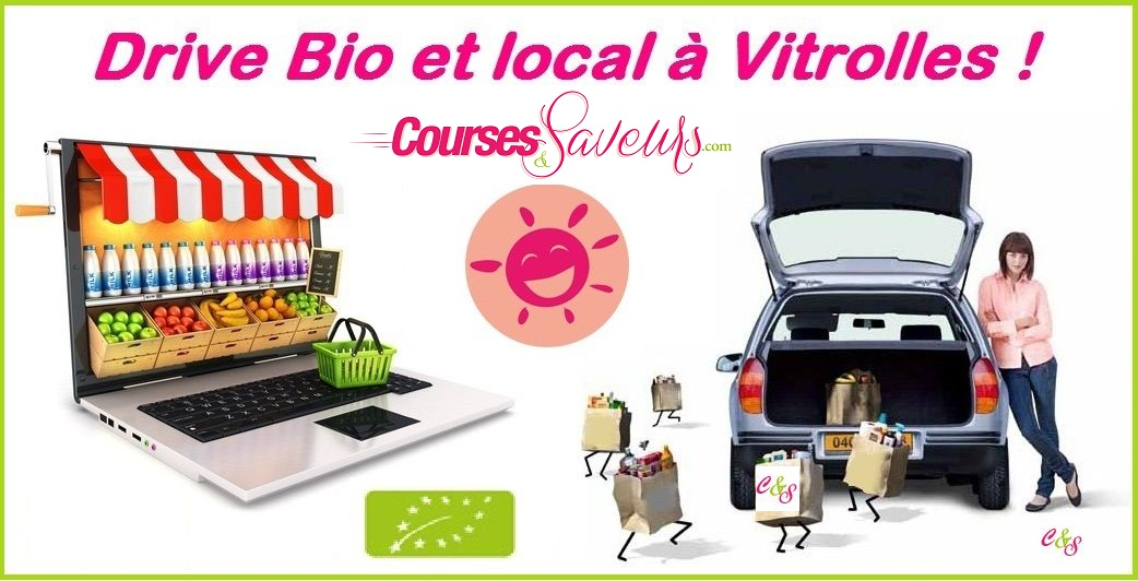 Courses Bio en direct producteur avec le Drive Bio de Vitrolles